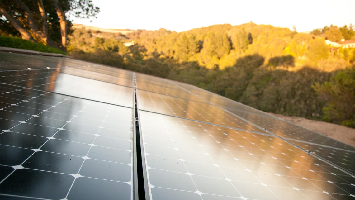 ground home solar