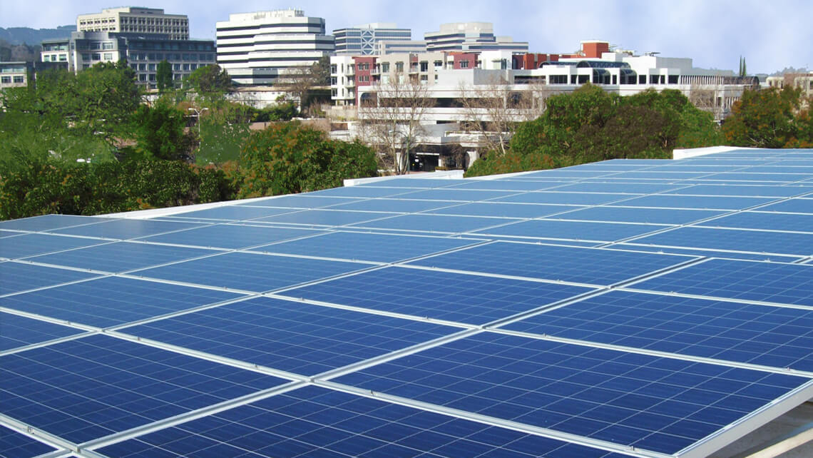 commercial building solar