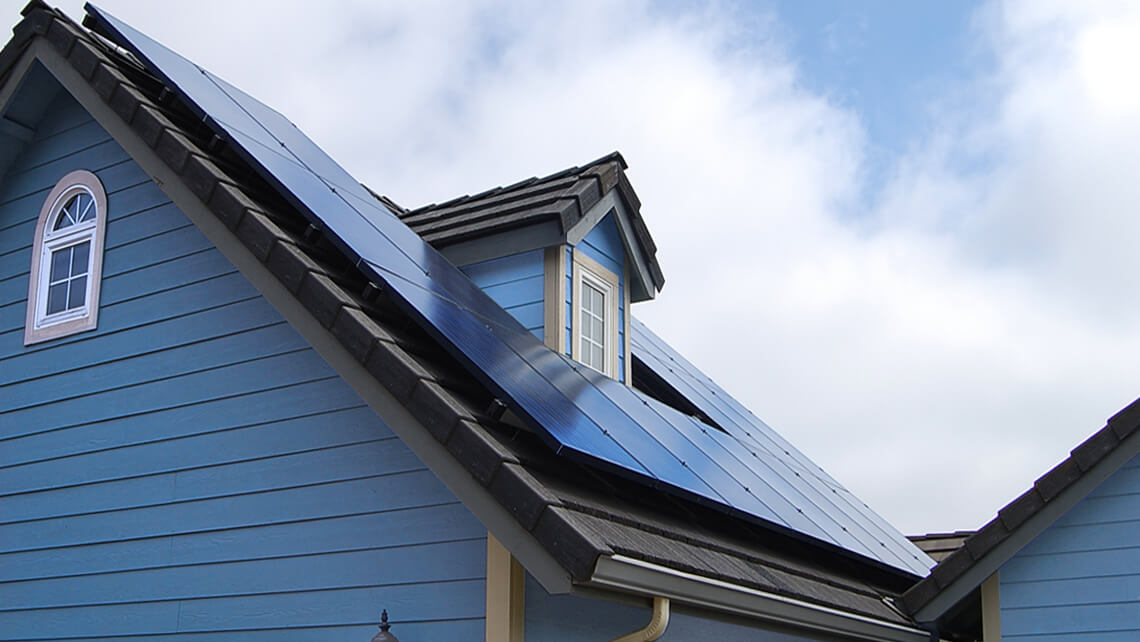 home rooftop solar