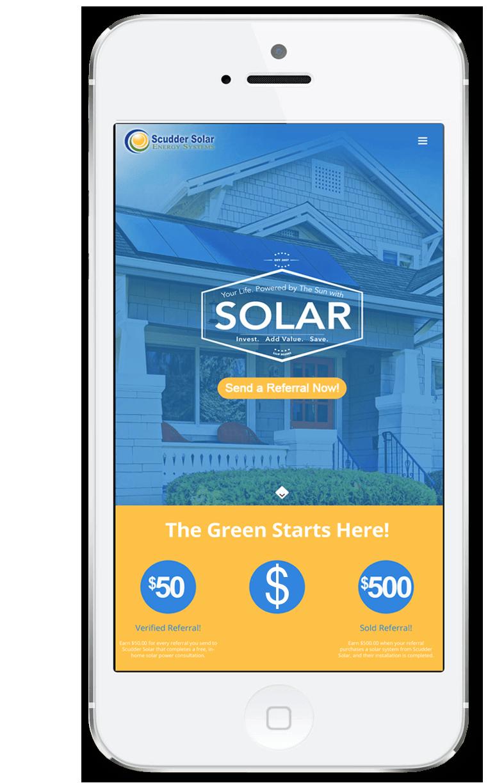Solar Power Referrals Scudder Solar Referral Program